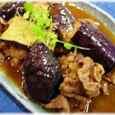 茄子と牛肉の和風カレー