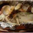 甘塩鱈とあさりのホイル包み焼き
