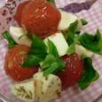 トマトとモッツアレラチーズ
