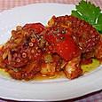 蛸のやわらかトマトソース煮