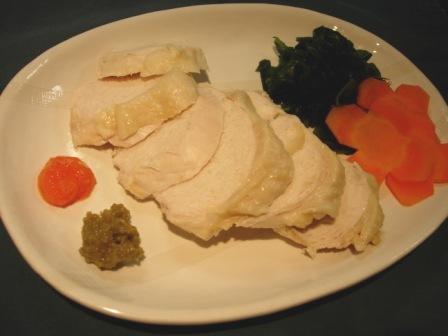 蒸し鶏(ムネ肉)